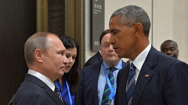 Putin (L) and Obama (Photo: EPA) (Photo: EPA)