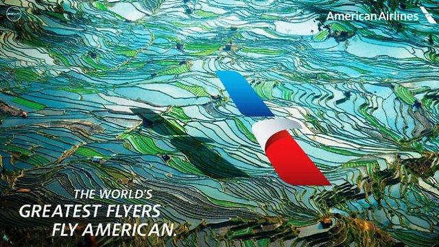 """הפרסומת החדשה של """"אמריקן איירליינס"""" (צילום: American Airlines) (צילום: American Airlines)"""
