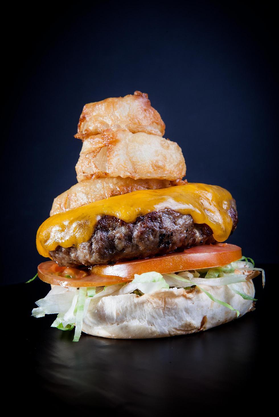 גורדוס - המבורגר מייק קרטר (צילום: ליאור גולסאד) (צילום: ליאור גולסאד)