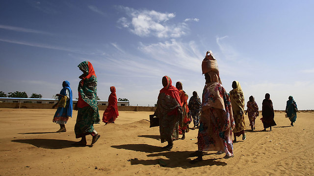 Sudanese refugees fleeing Darfur (File photo: AFP) (Photo: AFP)