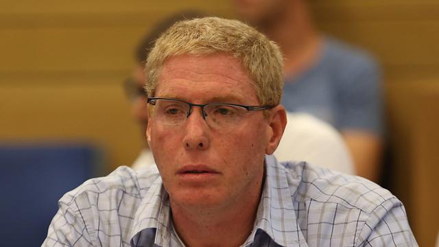 Danya Cebus CEO Ronen Ginzburg at the hearing (Photo: Gil Yohanan) (Photo: Gil Yohanan)