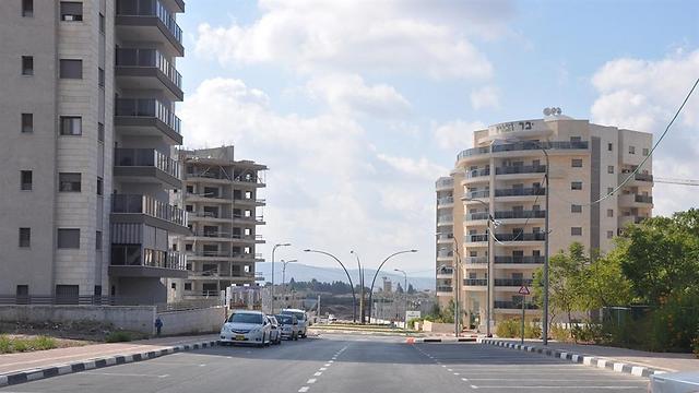 שכונת רובע יזרעאל החדשה בעפולה (צילום: שרון בן צבי)