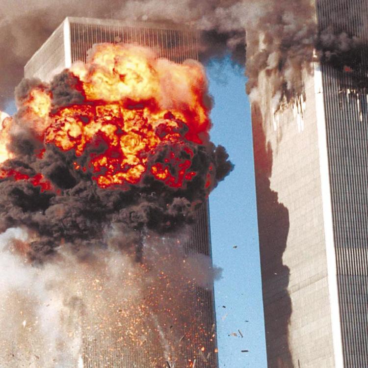 Падение башен-близнецов. 11 сентября 2001 года