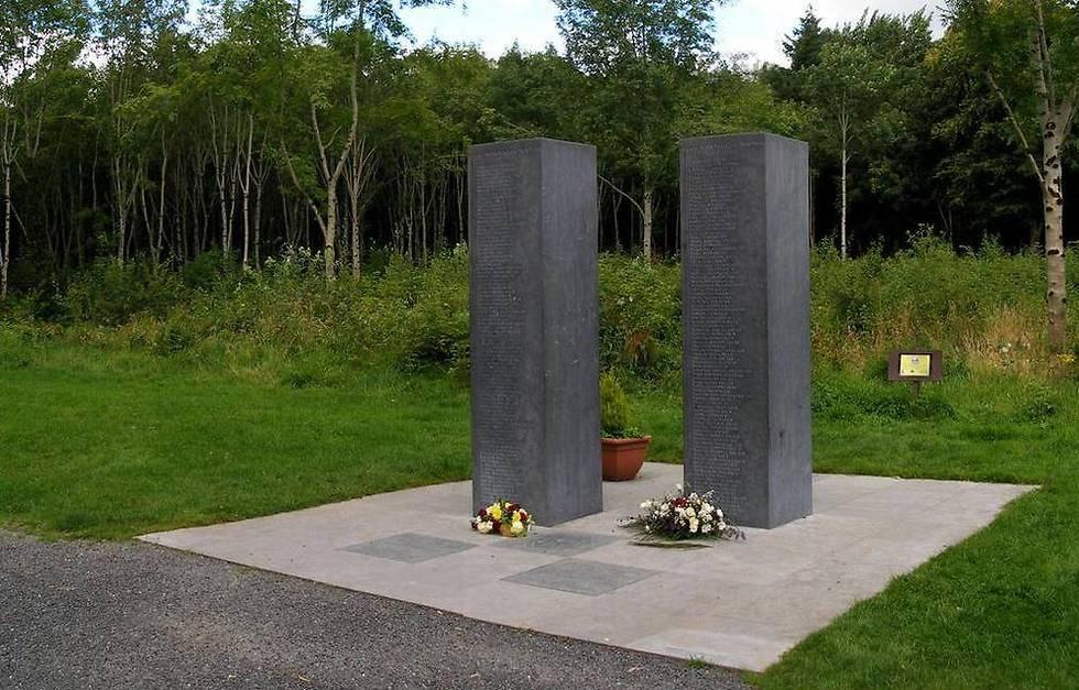 באמצע היער: אנדרטה לזכר יליד דונדאה, שון טאלון שנספה באסון ()