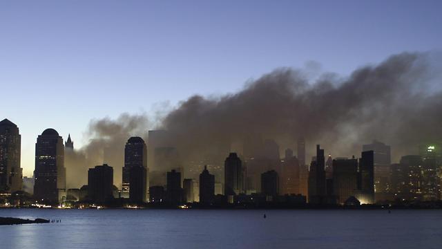 """""""הפלסטינים חילקו סוכריות"""". ניו יורק לאחר אסון התאומים  (צילום: EPA) (צילום: EPA)"""