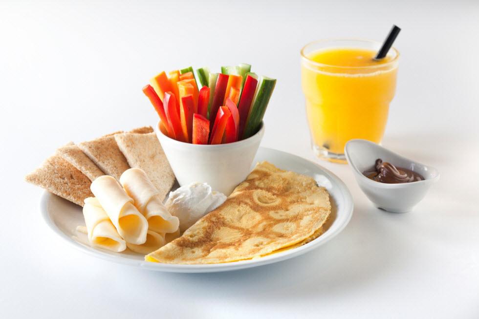 ארוחת בוקר. הביצה בעייתית (צילום: דניאל לילה) (צילום: דניאל לילה)