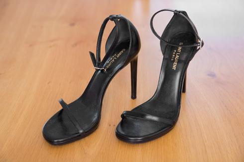 """נעלי עקב, סאן לורן פריז. """"אני מאוד אוהבת נעליים עם עקבים גבוהים ו-12 סנטימטרים לא מבהילים אותי, אך גובה העקב המקסימלי שלי הוא 15 סנטימטרים"""" (צילום: ענבל מרמרי)"""