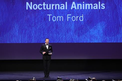 הזוכה בפרס אריה הכסף לסרט הטוב ביותר בפסטיבל ונציה. טום פורד (צילום: Gettyimages)