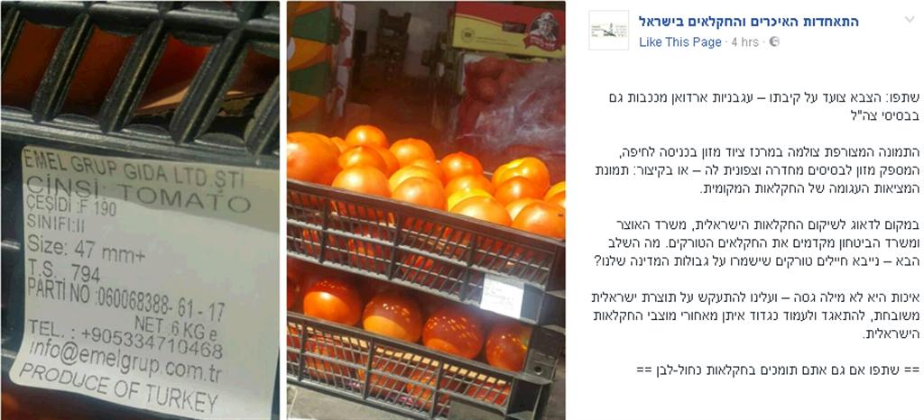 הפוסט הזועם (צילום מסך מפייסבוק) (צילום מסך מפייסבוק)