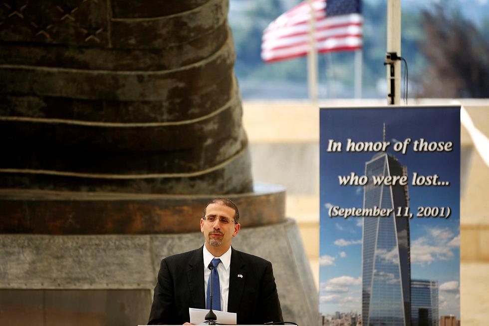 US Ambassador Shapiro speaks at 9/11 memorial ceremony (Photo: Reuters)