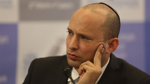 Education Minister Naftali Bennett (Photo: Gil Yohanan) (Photo: Gil Yohanan)