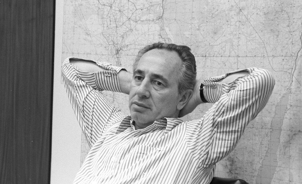 Peres in 1976 (Photo: David Rubinger)
