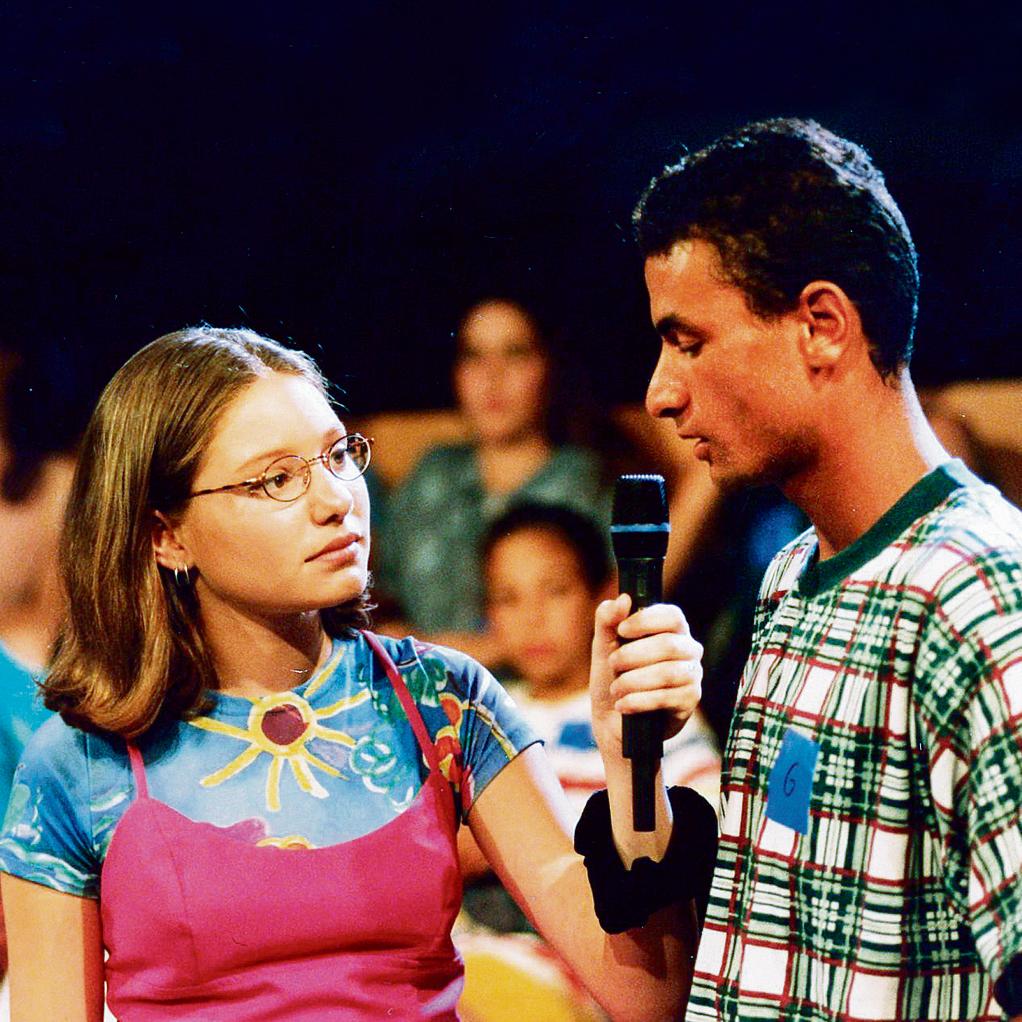 """כעיתונאית צעירה. """"גילית שבשיח הקולני שלנו, לא מדברים על התורה"""""""