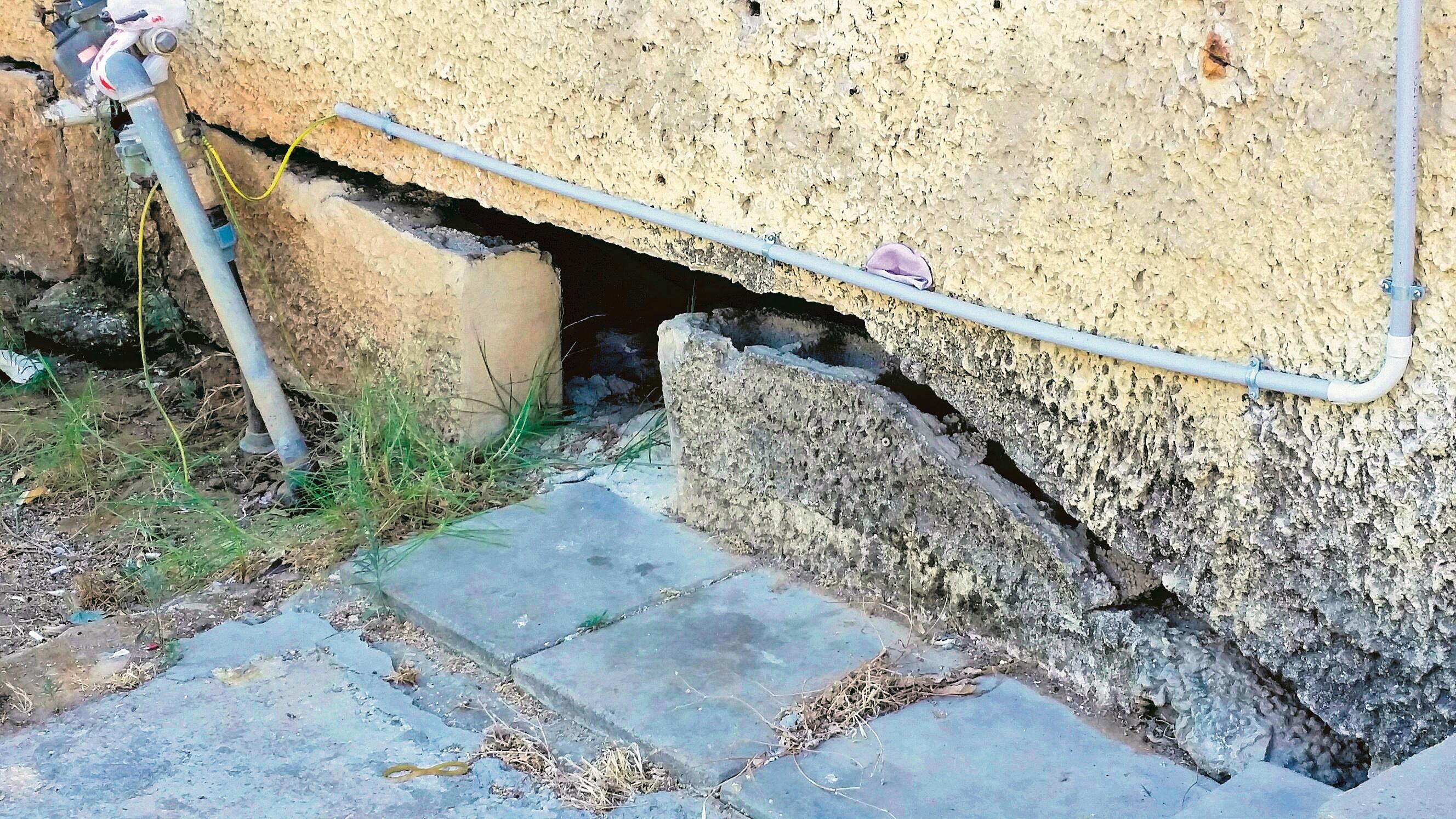 בניין בסיכון באחת השכונות הוותיקות בעיר
