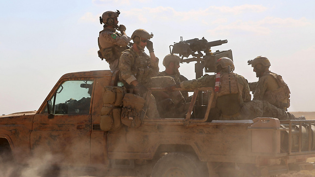 US Special Forces on the ground in Syria (Photo: AFP)