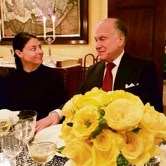 מרב מיכאלי ורונלד לאודר. ניו יורק