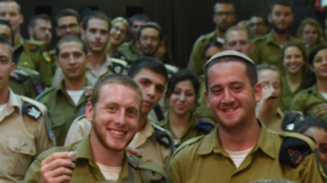 Some 6,000 American Jews have voluntarily joined the Israeli army in recent years  (Photo: IDF Spokesperson's Unit)
