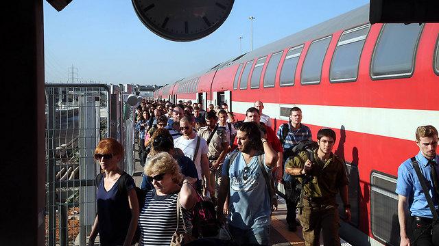 Перебои в движении поездов. Фото: Ярив Кац