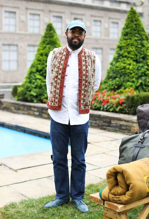 משמש בשנים האחרונות כעורך האופנה של מגזין הגברים GQ. דאוודו (צילום: rex/asap creative)