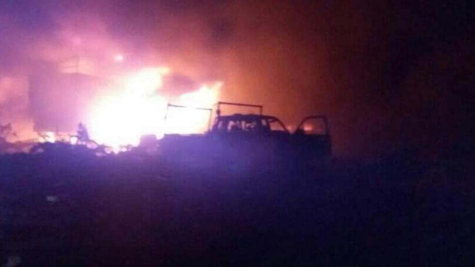 UN aid convoy attacked in Syria