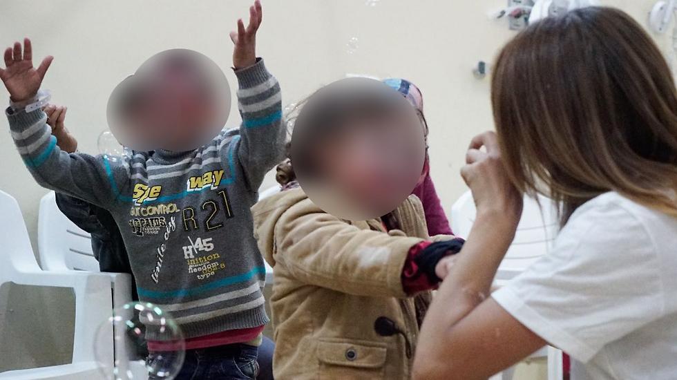 ילדים סורים מטופלים בישראל