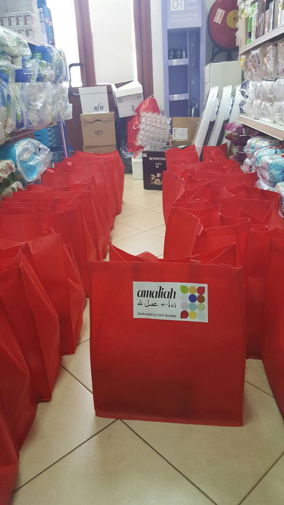 חבילות הסיוע שהעניק ארגון