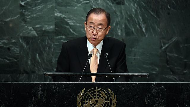 UN Secretary-General Ban Ki-moon (Photo: AFP) (Photo: AFP)