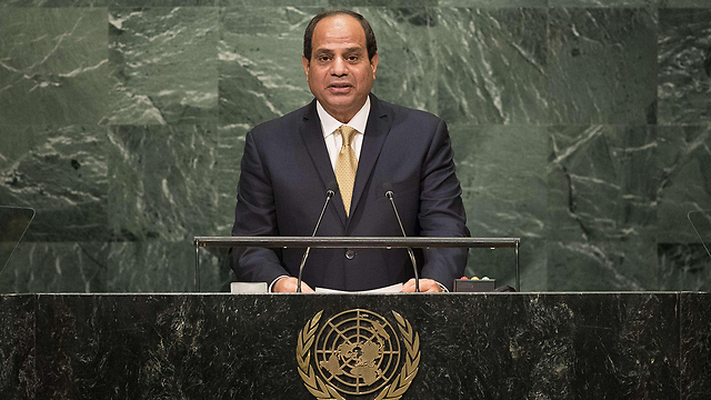 Egyptian President El-Sisi (Photo: AFP) (Photo: AFP)