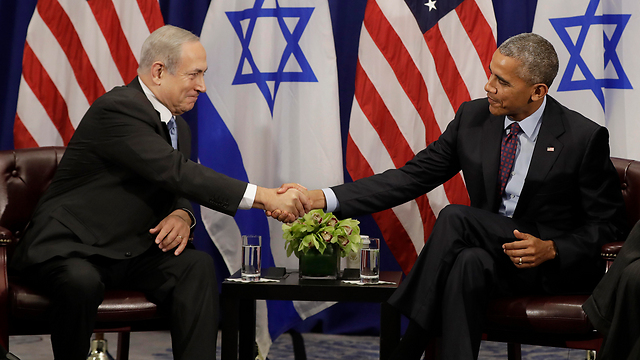 PM Netanyahu and Barack Obama (Photo: AP)