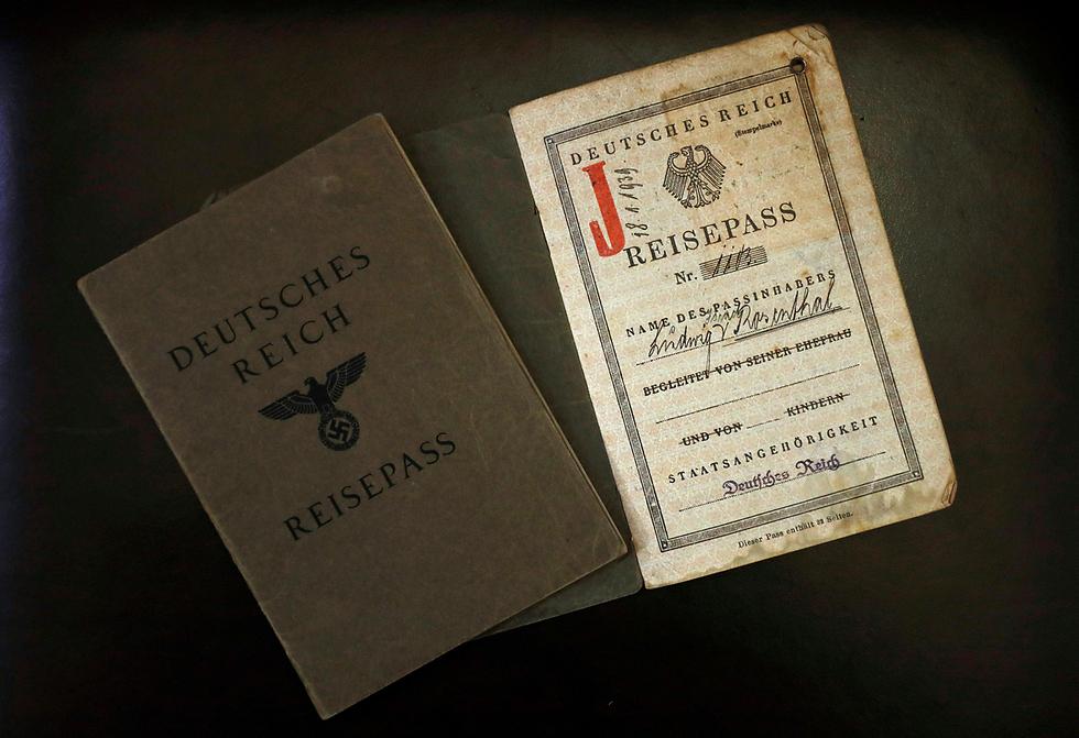 German-Jewish Passport from the Nazi Germany Period (Photo: Reuters)