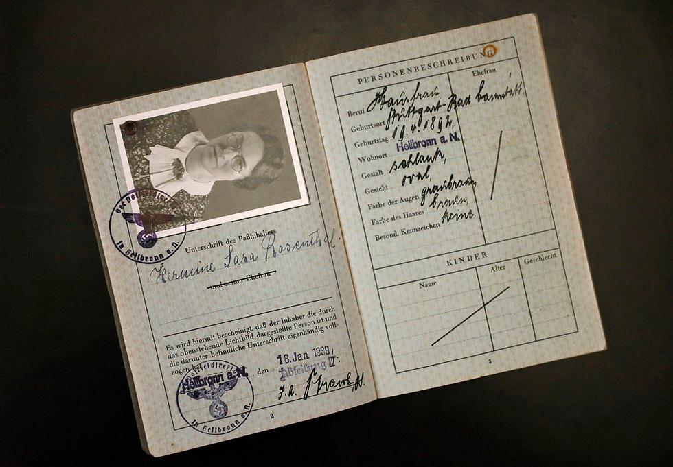 Nazi-era German passport (Photo: Reuters)