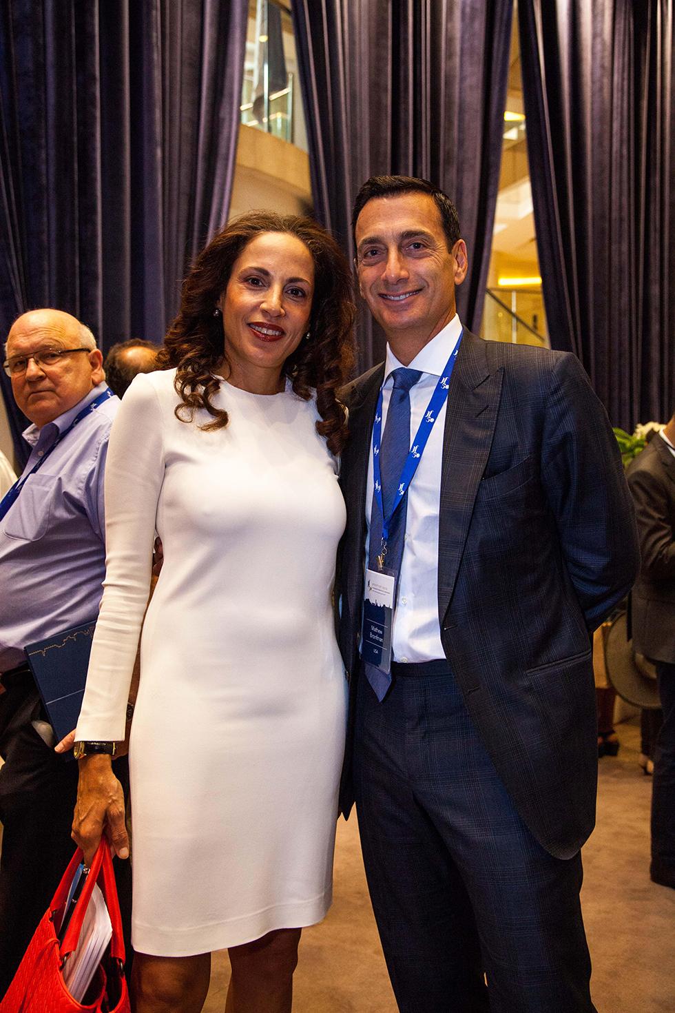 מת׳יו ברונפמן ויוהנה ארביב (צילום: ליאור גולסאד)