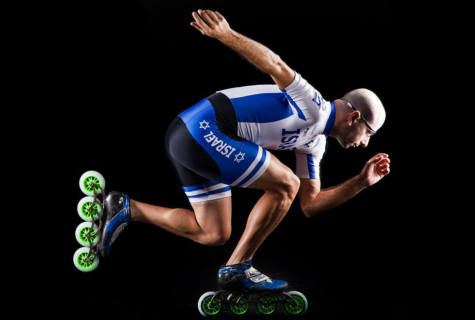 הרוכב הישראלי הבכיר בארץ. דרורי (צילום: אסף אמברם) (צילום: אסף אמברם)