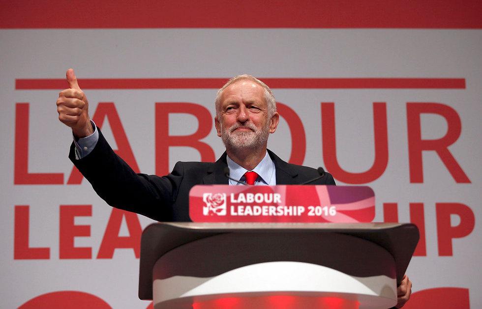 """""""לא סביר שהוא לא ידע על עמדותינו"""". מנהיג הלייבור קורבין (צילום: רויטרס) (צילום: רויטרס)"""