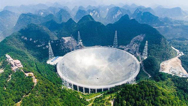 יש חיים? הרדיו טלסקופ הגדול בעולם (צילום: סוכנות הידיעות שינואה)