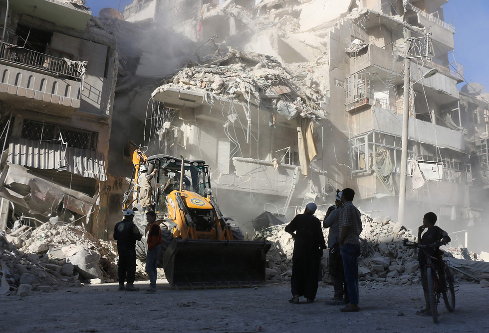 Death and destruction in Aleppo; Obama's foreign policy legacy (Photo: AFP)