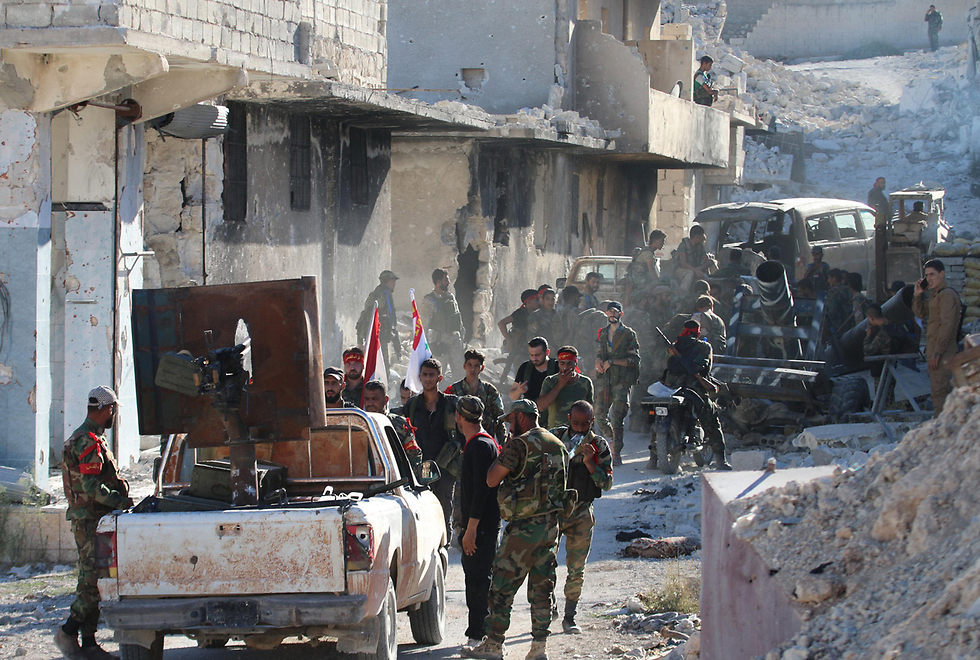 Rebel forces in Aleppo (Photo: AFP)