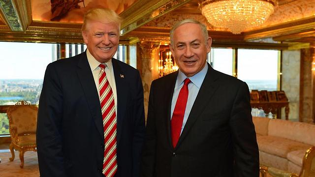 Trump and Netanyahu in their meeting in New York in September (Photo: GPO)