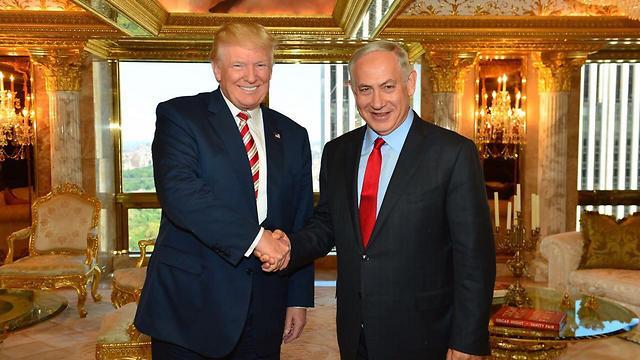 Netanyahu and Trump in New York in September (Photo: Kobi Gideon, GPO) (Photo: Kobi Gideon/GPO)