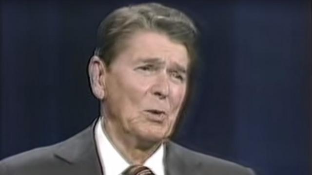 President Reagan (Photo: Youtube)
