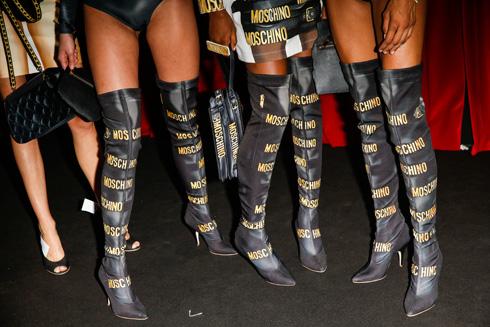 המגפיים של מוסקינו (צילום: Gettyimages)