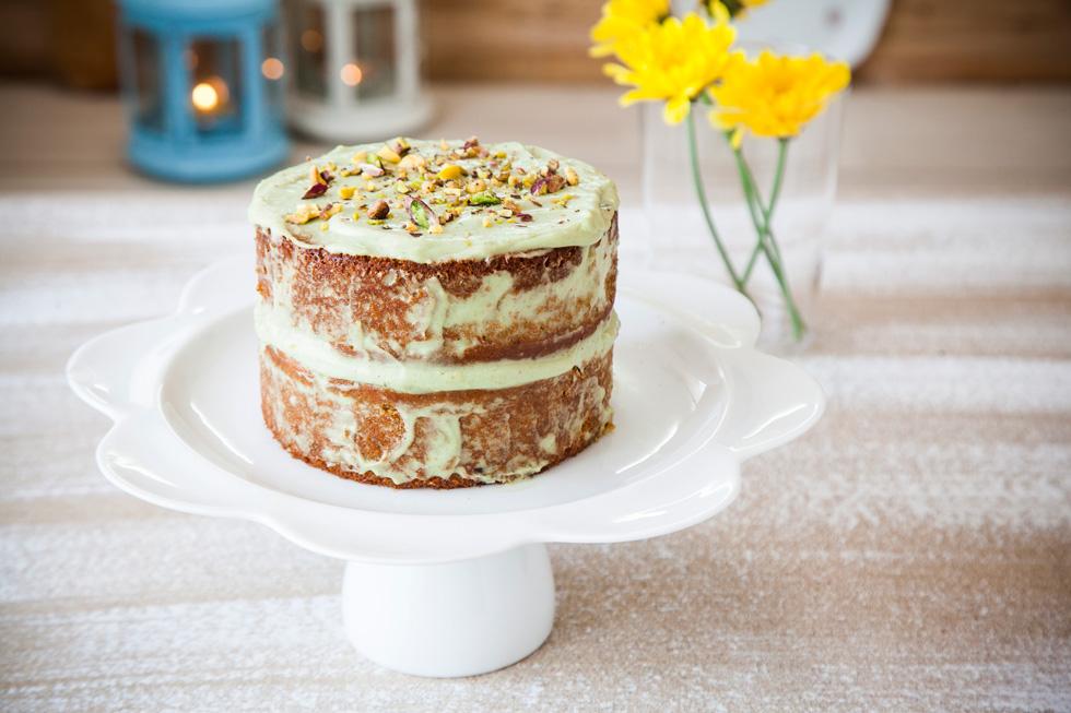 עוגת פיסטוק עם דבש (צילום: אפיק גבאי)