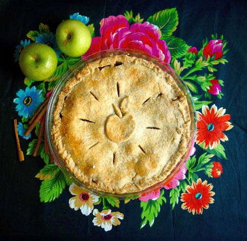 פאי תפוחים משגע (צילום: מירב גביש)