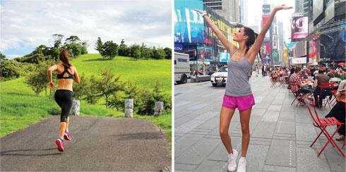 מימין: Kayla Itsines; משמאל: Tanya Poppett (צילום: מתוך Instagram.com)