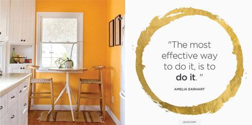 מימין: Levo; משמאל: Apartment therapy (צילום: מתוך Instagram.com)