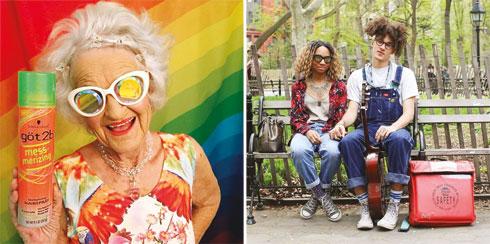 מימין: Humans of NY; משמאל: Baddiewinkle (צילום: מתוך Instagram.com)