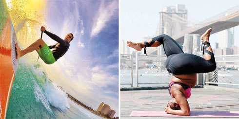 מימין: Jassamyn Stanley; משמאל: Damien Leroy (צילום: מתוך Instagram.com)