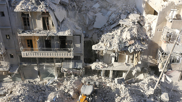 The Assad regime and the Russians have allegedly been hitting hospitals in rebel held Aleppo (Photo: AFP)