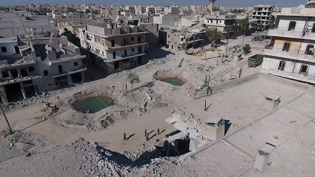 Destruction in Aleppo (Photo: Reuters)