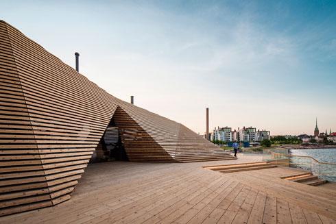 עיריית הלסינקי משנה את רציפי הנמל הנטושים. לחצו לכתבה המלאה (צילום: kuvio.com)